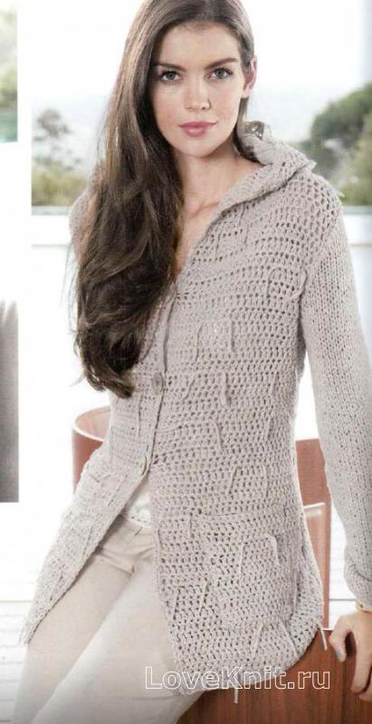 Схемы вязание спицами большие размеры для женщин