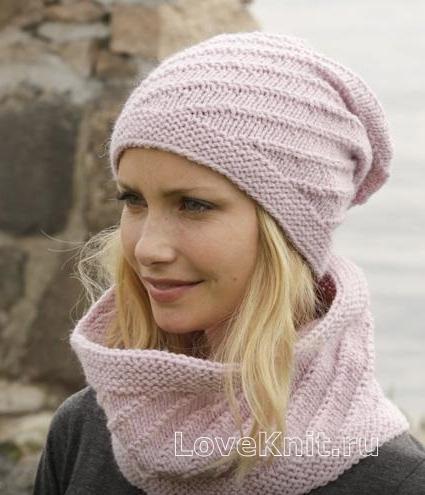 Вязание как связать шарф спицами