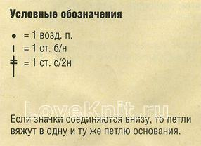 Описание вязания к узор ажурная кайма №1274