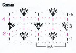 Описание вязания к узор №1699