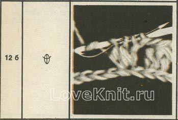 Описание вязания к узор №1517