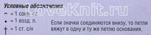 Описание вязания к узор №1456
