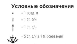 Описание вязания к узор фантазийный №4106 крючком