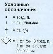 Описание вязания к узоры веерочки (ракушки) №4109 крючком