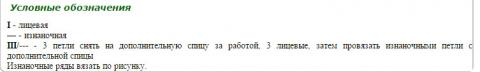 Описание вязания к узор из кос (жгутов) №1976 спицами
