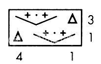 Описание вязания к узор ажурный №2652 спицами