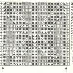 Описание вязания к ажурный узор №3471 спицами