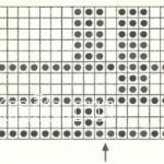 Описание вязания к простой узор №3491 спицами