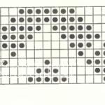 Описание вязания к объемный узор №3496 спицами