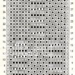 Описание вязания к красивый узор №3499 спицами