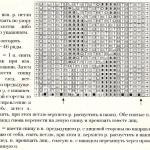 Описание вязания к узор резинка №3504 спицами