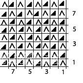 Описание вязания к красивый узор №3537 спицами
