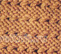 Описание вязания к узор №1475 спицами