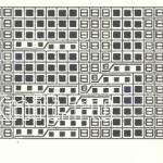 Описание вязания к плотный узор №3482 спицами