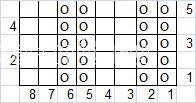 Описание вязания к объемный узор №4038 спицами