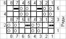 Описание вязания к структурный узор №4050 спицами