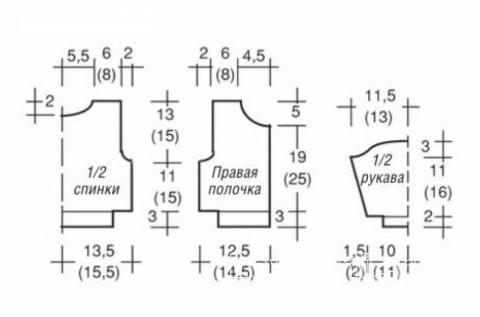 Схема вязания ажурный кардиган для девочки на пуговицах раздел для детей детские кофты, жакеты и тд
