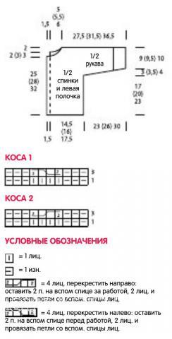Схема вязания белый детский жакет на пуговицах с капюшоном раздел для детей детские кофты, жакеты и тд