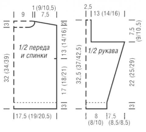 Схема вязания детская кофта с рельефным узором раздел для детей детские кофты, жакеты и тд