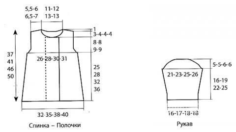 Схема вязания детский двубортный жакет на пуговицах раздел для детей детские кофты, жакеты и тд