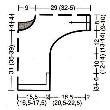 Схема вязания детский джемпер с графическим рисунком раздел для детей детские кофты, жакеты и тд