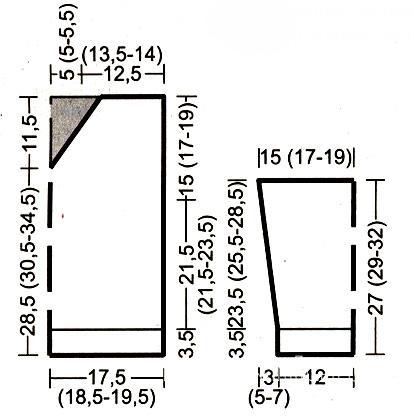 Схема вязания детский джемпер с капюшоном раздел для детей детские кофты, жакеты и тд