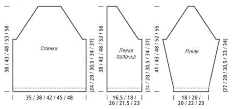 Схема вязания детский кардиган с рисунком вопросительный знак раздел для детей детские кофты, жакеты и тд