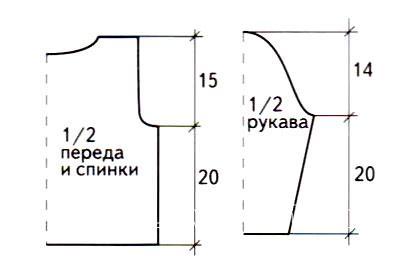Схема вязания детский оранжевый пуловер на 1-3 года раздел для детей детские кофты, жакеты и тд