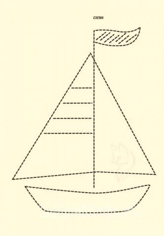 Схема вязания детский пуловер в полоску с вышивкой раздел для детей детские кофты, жакеты и тд