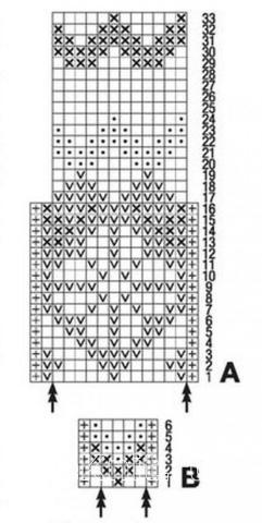 Схема вязания детский свитер с норвежским узором и шарф раздел для детей детские кофты, жакеты и тд