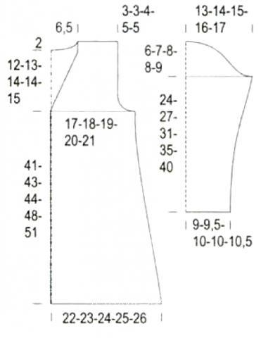 Схема вязания длинный кардиган с цветными полосками раздел для детей детские кофты, жакеты и тд