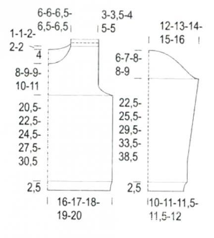 Схема вязания джемпер детский с надписью раздел для детей детские кофты, жакеты и тд