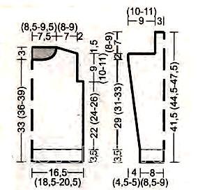 Схема вязания джемпер для мальчика с вязаными квадратами раздел для детей детские кофты, жакеты и тд