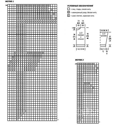 Схема вязания джемпер в спортивном стиле для мальчика раздел для детей детские кофты, жакеты и тд
