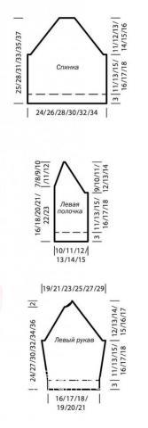 Схема вязания кардиган для мальчика с воротником-шалькой раздел для детей детские кофты, жакеты и тд