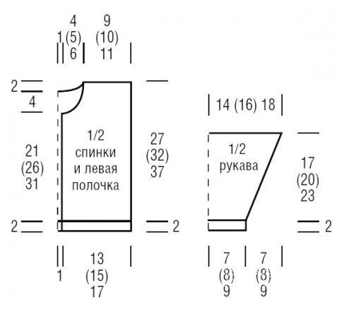 Схема вязания кардиган для малыша с жаккардовым узором раздел для детей детские кофты, жакеты и тд