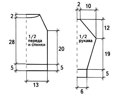 Схема вязания кофта с аппликацией для ребенка 3 лет раздел для детей детские кофты, жакеты и тд