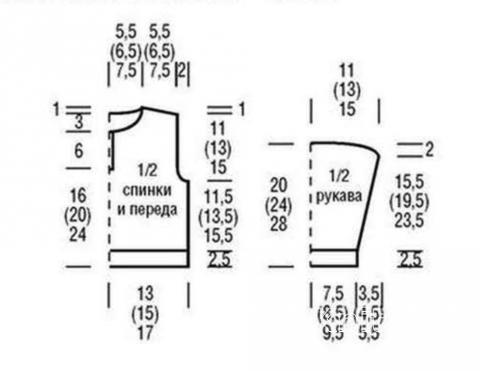 Схема вязания кофта для девочки с круглым воротником раздел для детей детские кофты, жакеты и тд