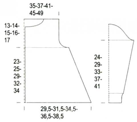 Схема вязания меланжевый кардиган на пуговках для девочки раздел для детей детские кофты, жакеты и тд