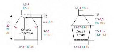 Схема вязания полосатый детский жакет на пуговицах раздел для детей детские кофты, жакеты и тд
