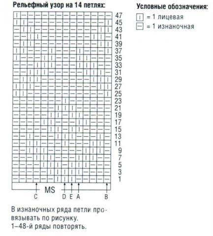 Схема вязания полосатый джемпер для ребенка с воротником-гольф раздел для детей детские кофты, жакеты и тд