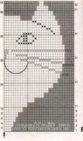 Схема вязания пуловер для подростка с кошачьей мордочкой раздел для детей детские кофты, жакеты и тд