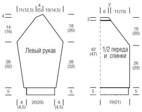 Схема вязания пушистая кофта реглан для девочки раздел для детей детские кофты, жакеты и тд