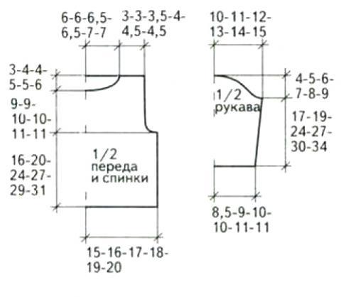 Схема вязания рельефная детская кофта с капюшоном раздел для детей детские кофты, жакеты и тд