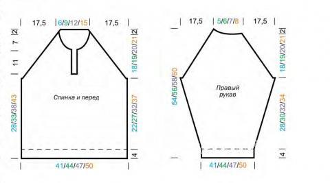 Схема вязания трехцветный джемпер для мальчика раздел для детей детские кофты, жакеты и тд