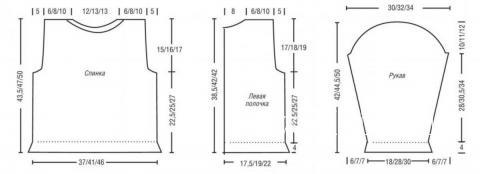 Схема вязания удлиненный жакет для девочки без застежек раздел для детей детские кофты, жакеты и тд