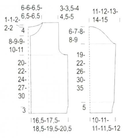 """Схема вязания жакет с аппликацией """"следы"""" для ребенка раздел для детей детские кофты, жакеты и тд"""