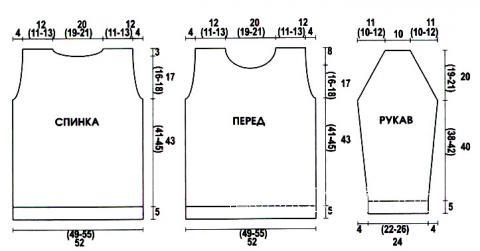 Схема вязания мужской цветной пуловер раздел для мужчин мужские кофты спицами