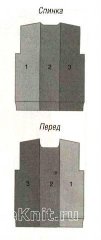 Схема вязания мужской пуловер с косами раздел для мужчин мужские кофты спицами