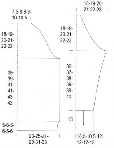 Схема вязания мужской пуловер с полосатым узором раздел для мужчин мужские кофты спицами
